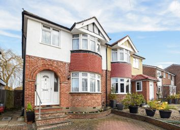Thumbnail 3 bed semi-detached house for sale in Curtis Road, Ewell, Epsom