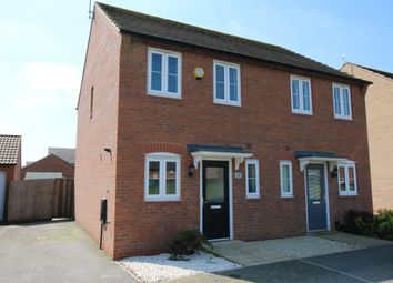 Thumbnail 2 bed semi-detached house for sale in Battle Close, Newton, Nottingham