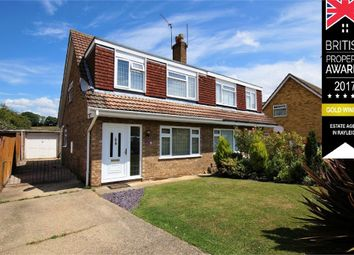 Thumbnail 3 bed semi-detached house for sale in Milton Close, Rayleigh, Essex