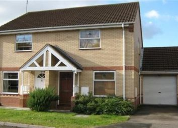 Thumbnail 2 bed semi-detached house to rent in Parkland Drive, Chellaston, Derby