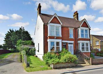 Thumbnail 4 bed semi-detached house for sale in High Street, Newington, Sittingbourne, Kent
