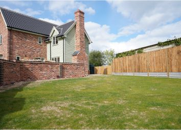 Thumbnail 3 bed detached house for sale in The Street, Pulham St Mary