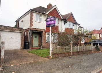 Thumbnail 3 bed semi-detached house for sale in Ellesmere Drive, Sanderstead