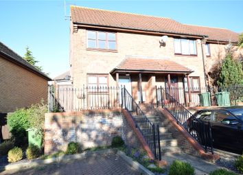 Thumbnail 2 bed end terrace house for sale in Downs Grove, Vange, Basildon, Essex