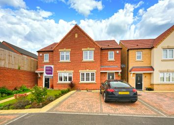 Thumbnail 3 bed semi-detached house for sale in Woodhall Mews, Wakefield