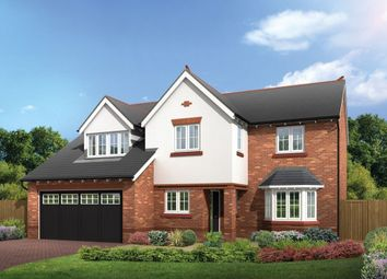 Thumbnail 4 bed detached house for sale in Common Lane, Lach Dennis, Northwich