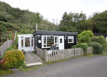 Thumbnail 2 bed mobile/park home for sale in Plas Pantedial, Aberdyfi, Gwynedd