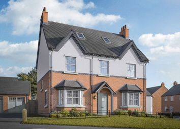 Thumbnail 5 bed detached house for sale in The Dovedale, Century Drive, Off Normanton Rd, Packington