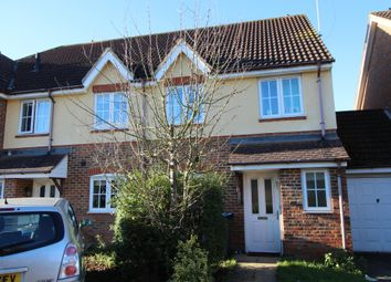Thumbnail 3 bed semi-detached house to rent in Clover Way, Hatfield