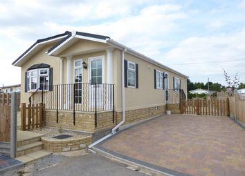 Thumbnail 2 bed mobile/park home for sale in Primrose Hill Park, Charlton Mackrell