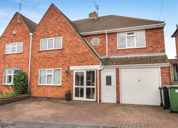 Thumbnail 4 bedroom semi-detached house for sale in Sedgefield Drive, Thurnby