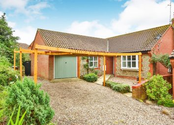 Thumbnail 3 bedroom detached bungalow for sale in William Road, Fakenham