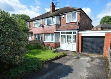 Thumbnail 3 bed semi-detached house for sale in Ogwen Drive, Prestwich, Manchester