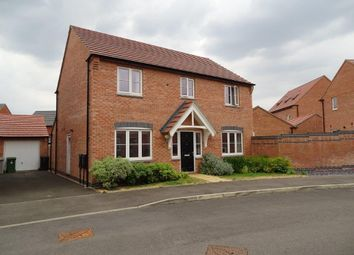 Thumbnail 4 bed detached house to rent in Prince George Avenue, Oakham