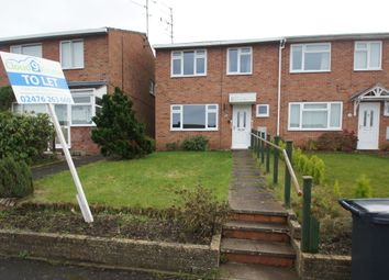 Thumbnail 4 bed end terrace house to rent in Redfern Avenue, Kenilworth, Warwichshire