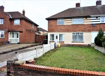 Thumbnail 3 bedroom semi-detached house for sale in Rydding Lane, West Bromwich