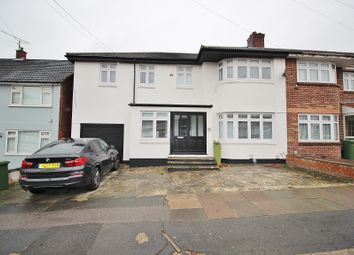 Thumbnail 5 bed semi-detached house for sale in Abbotswood Gardens, Clayhall, Ilford