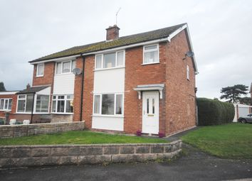 Thumbnail 3 bed semi-detached house to rent in Red Bank Road, Market Drayton