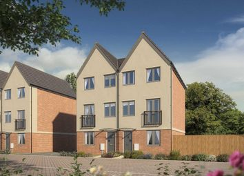 "Thumbnail 3 bedroom town house for sale in ""The Greyfriars "" at Neath Road, Landore, Swansea"