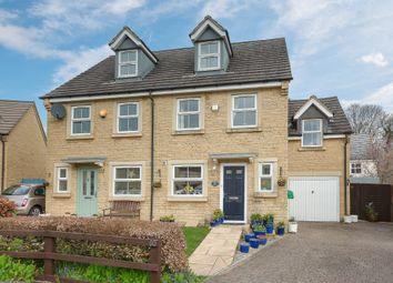 Thumbnail 4 bed semi-detached house for sale in Stone Close, Corsham