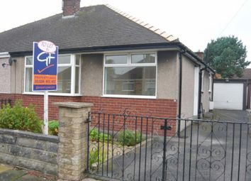 Thumbnail 2 bed semi-detached bungalow to rent in Strickland Drive, Morecambe