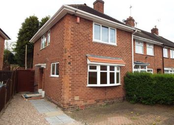 Thumbnail 3 bed end terrace house for sale in Burnel Road, Birmingham, West Midlands