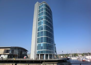Thumbnail 2 bed flat to rent in Marina Point West, Dock Head Road, Chatham