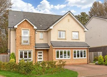 Thumbnail 5 bed detached house for sale in Greenwood Close, Edinburgh