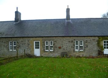 Thumbnail 2 bed cottage to rent in Cartington, Morpeth