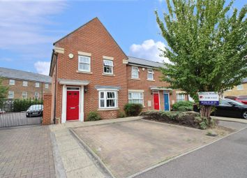 Thumbnail 3 bedroom end terrace house for sale in Reed Court, Greenhithe