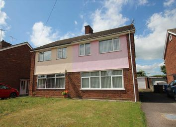 Thumbnail 3 bed semi-detached house for sale in Diamond Close, Ipswich