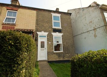 Thumbnail 3 bed end terrace house to rent in Bungay Road, Halesworth