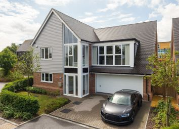 Thumbnail 5 bedroom detached house for sale in Campion Close, Ashford