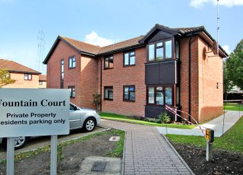 Thumbnail 2 bed flat for sale in Fountain Court, Bowes Close, Sidcup, Kent