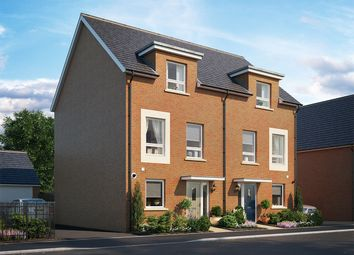Thumbnail 3 bed town house for sale in Longhedge Village, Salisbury