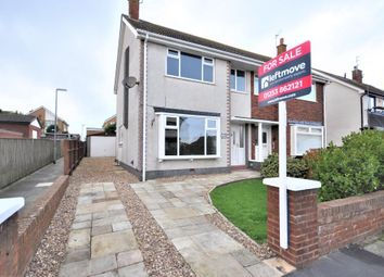 Thumbnail 3 bed semi-detached house for sale in Kirkstone Drive, Cleveleys, Thornton Cleveleys, Lancashire