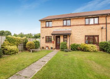 Thumbnail 4 bed semi-detached house for sale in Wilson Way, Caversfield, Bicester