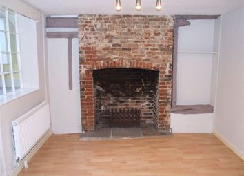 Thumbnail 2 bed property to rent in Thoroughfare, Halesworth