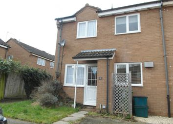 Thumbnail 1 bed terraced house to rent in Honeybourne Drive, Cheltenham