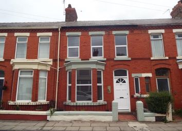 Thumbnail 3 bed terraced house for sale in Avonmore Avenue, Mossley Hill, Liverpool, Merseyside