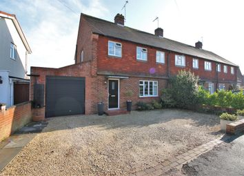 Thumbnail 3 bed end terrace house for sale in Coveham Crescent, Cobham