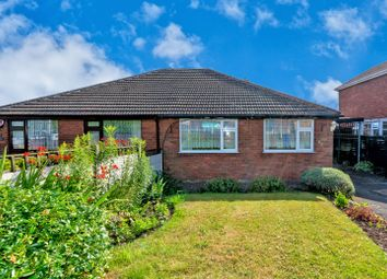 Thumbnail 3 bed semi-detached bungalow for sale in Church Hill, Hednesford, Cannock