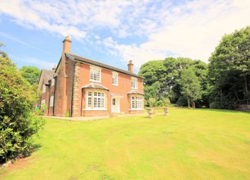 Thumbnail 5 bedroom detached house for sale in Church Bank, Keele, Newcastle-Under-Lyme