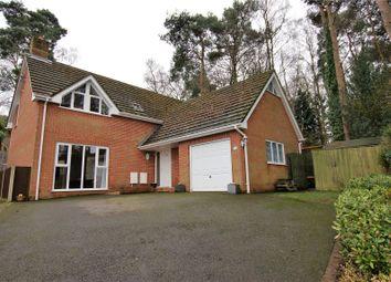 Thumbnail 4 bed detached house for sale in Viewside Close, Corfe Mullen, Wimborne, Dorset