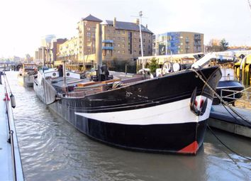 Thumbnail 3 bed houseboat for sale in Wapping High Street, London