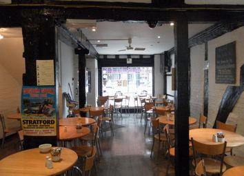 Thumbnail Restaurant/cafe for sale in 13-14 Meer Street, Stratford Upon Avon
