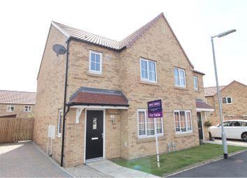 Thumbnail 3 bed semi-detached house for sale in Devonshire Close, Elloughton