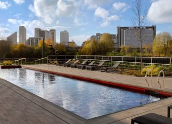 Thumbnail 2 bed flat for sale in Dawsonne House, London City Island