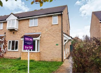 Thumbnail 3 bed end terrace house for sale in Welland Close, St. Ives