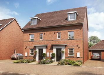 "Thumbnail 4 bed semi-detached house for sale in ""Woodcroft"" at Hanworth Lane, Chertsey"